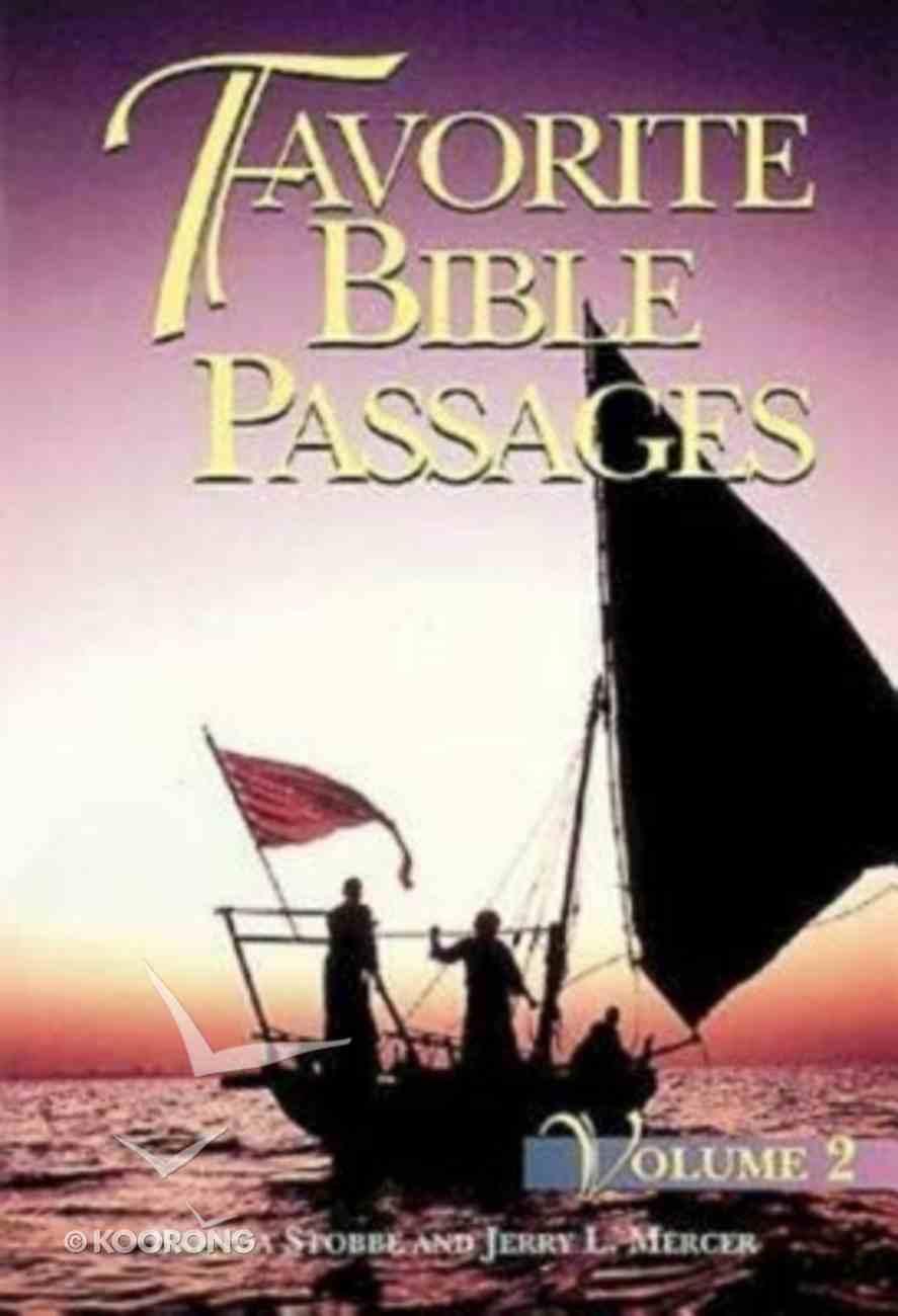 Favorite Bible Passages Volume 2 (Student Book) Paperback