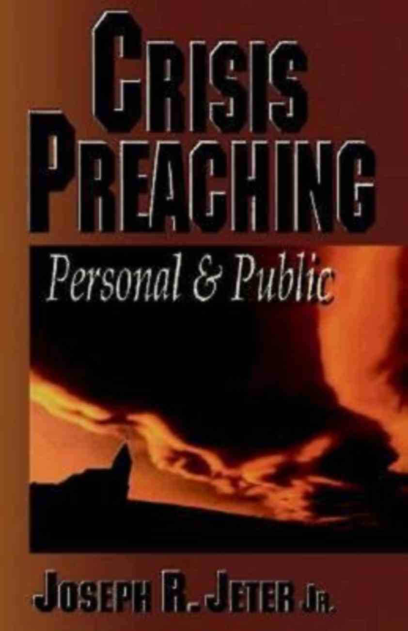 Crisis Preaching Paperback