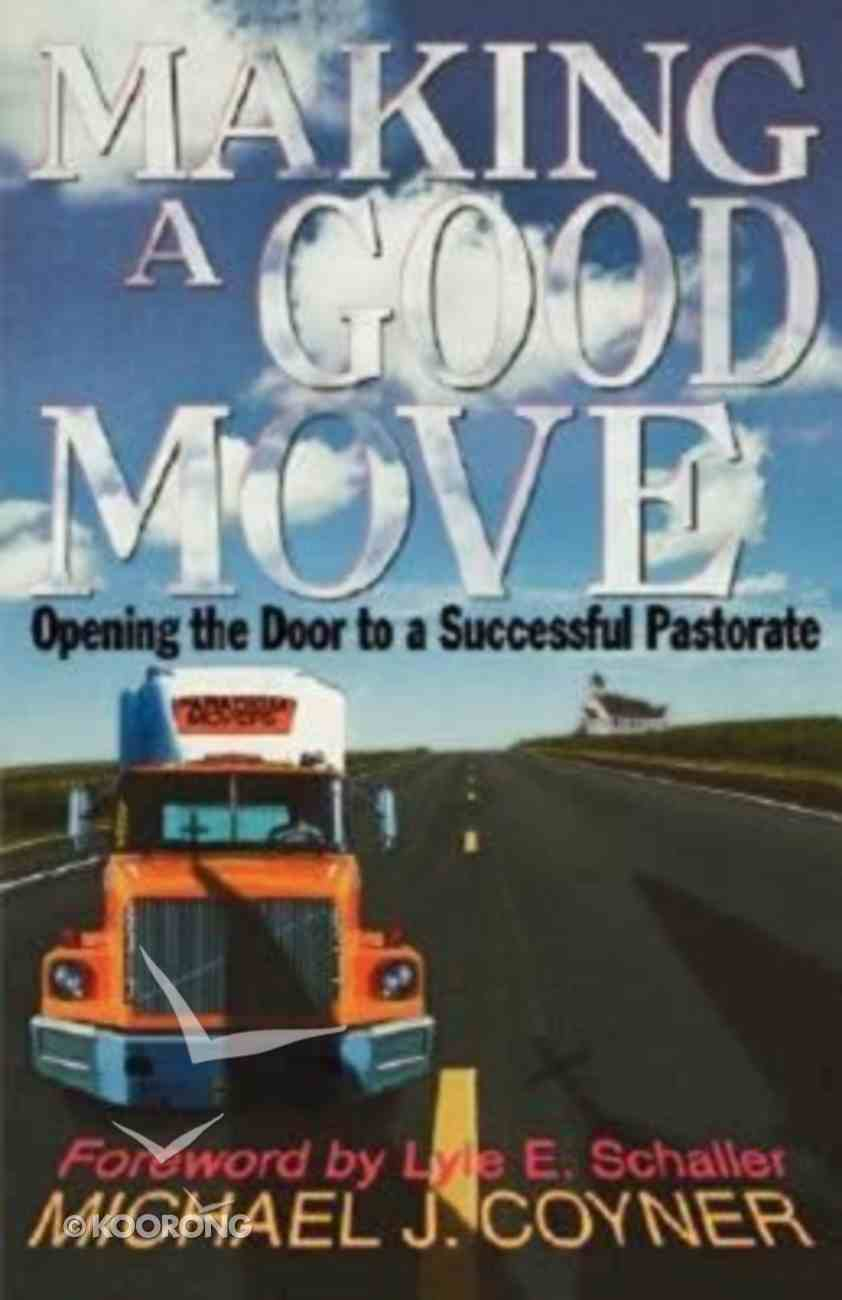 Making a Good Move Paperback