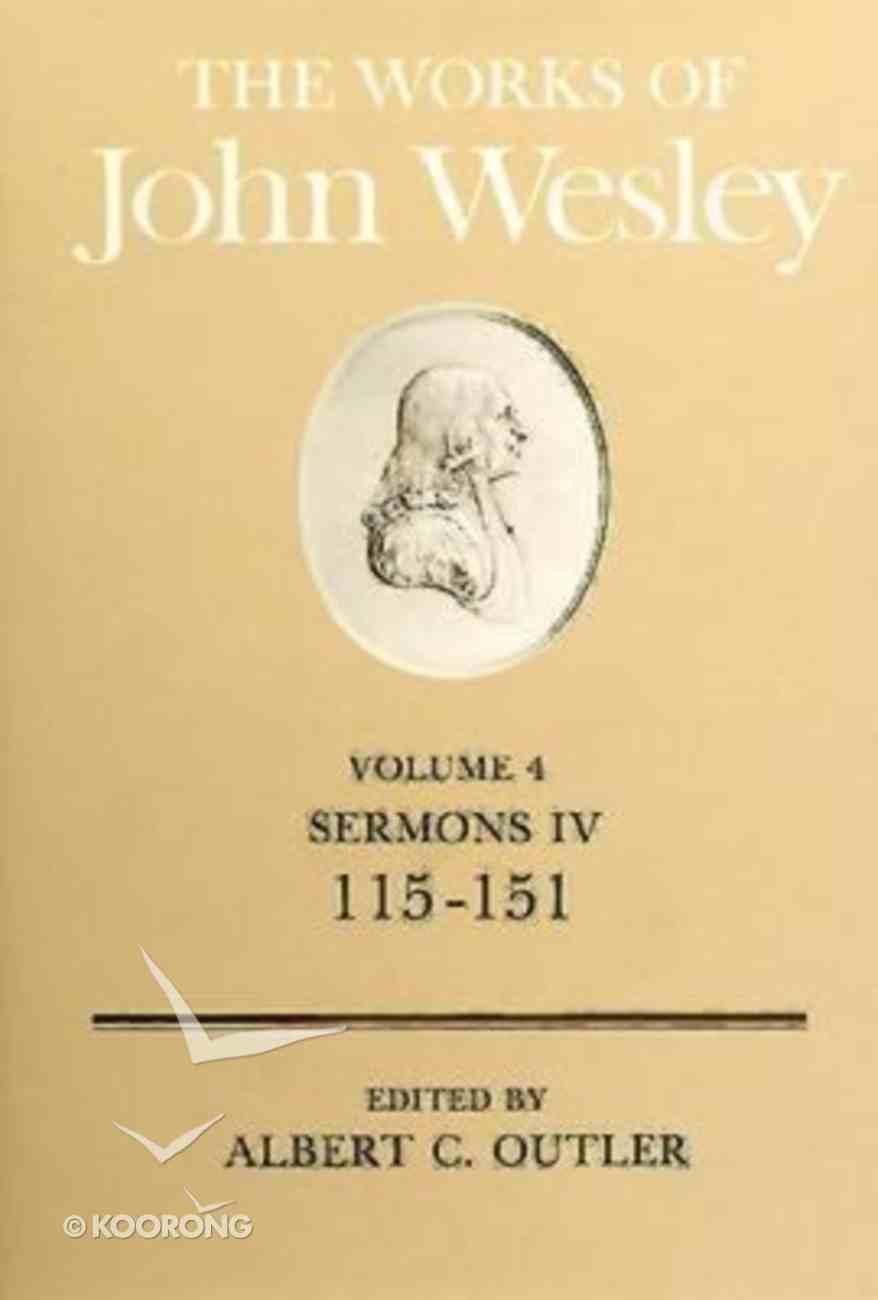 The Works of John Wesley (Vol 04) Hardback
