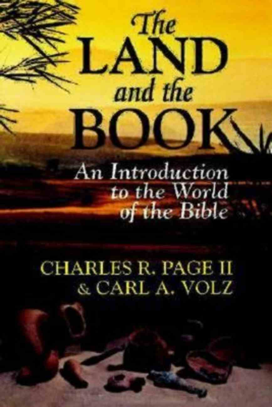 The Land and the Book Paperback