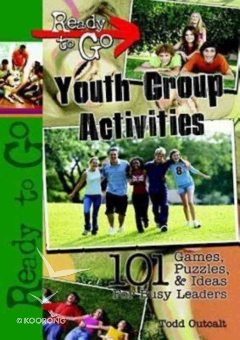 Ready to Go: Youth Group Activities (Incl Cd-rom) Paperback