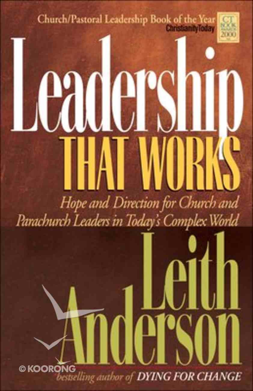 Leadership That Works Paperback
