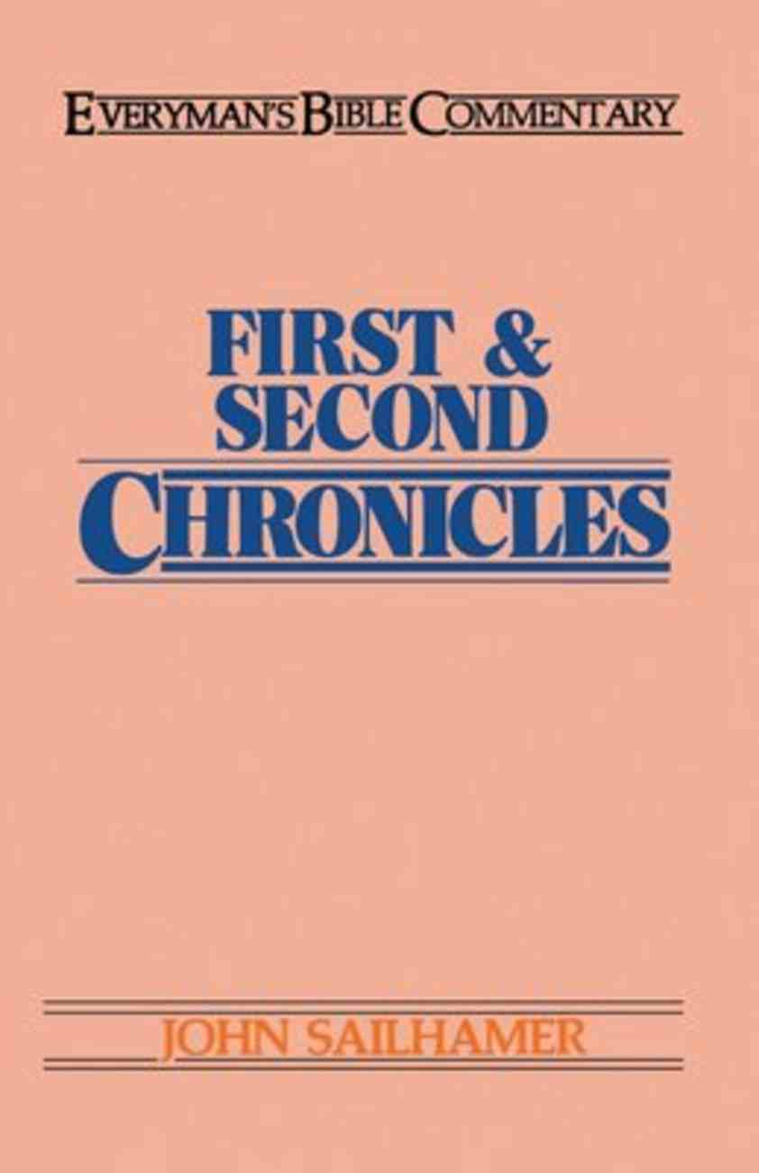1&2 Chronicles (Everyman's Bible Commentary Series) Paperback