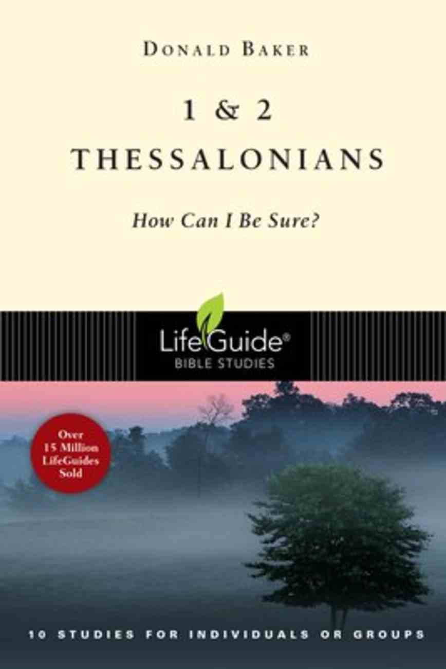 1 & 2 Thessalonians (10 Studies) (Lifeguide Bible Study Series) Paperback
