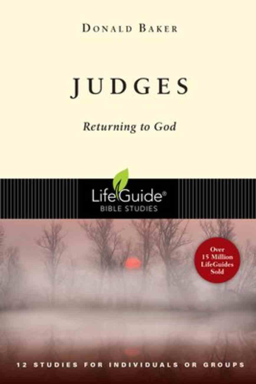 Judges (Lifeguide Bible Study Series) Paperback