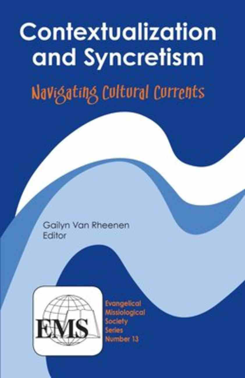 Contextualization and Syncretism Paperback