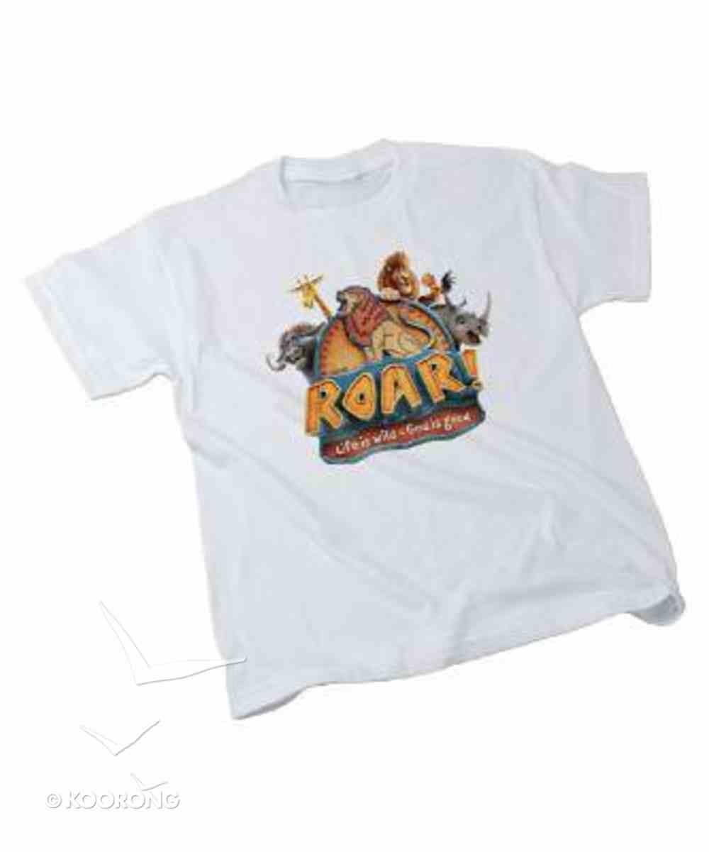 2019 Vbs Roar Theme T-Shirt, Adult Sm (34-36) Soft Goods