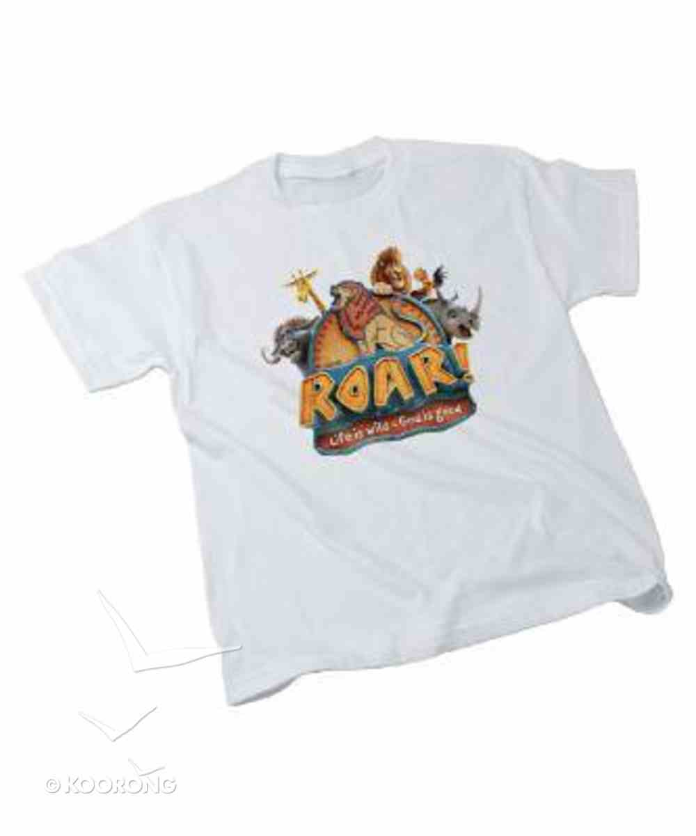 2019 Vbs Roar Theme T-Shirt, Adult Me (38-40) Soft Goods