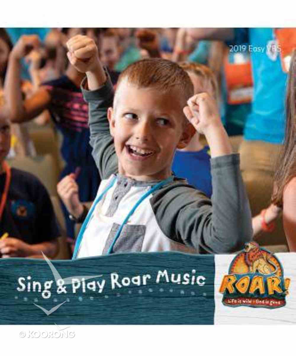2019 Vbs Roar Sing & Play Music CD CD