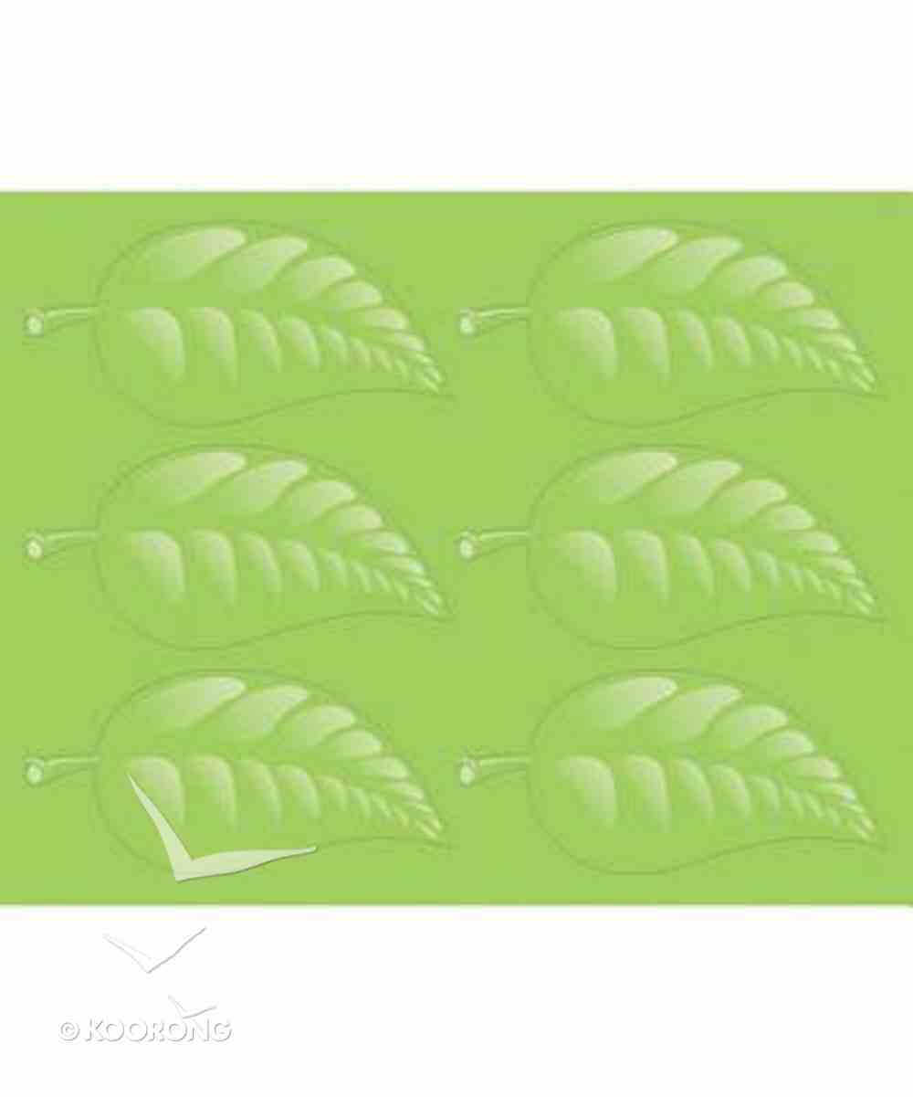 2019 Vbs Roar Operation Kid-To-Kid Living Leaves Stickers (Pack Of 96) Pack