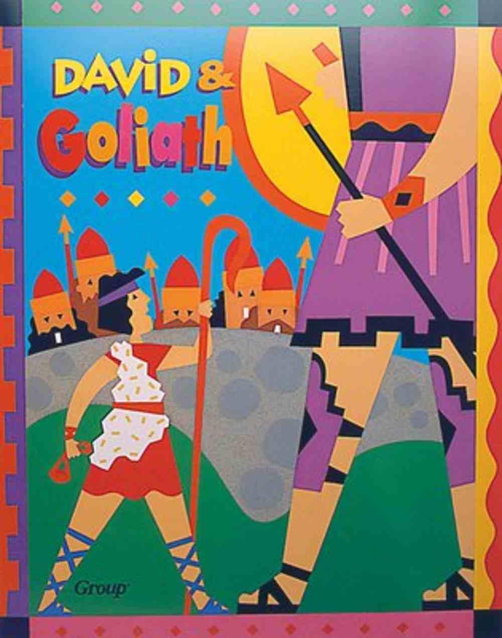 David & Goliath (Bible Big Book Series) Paperback