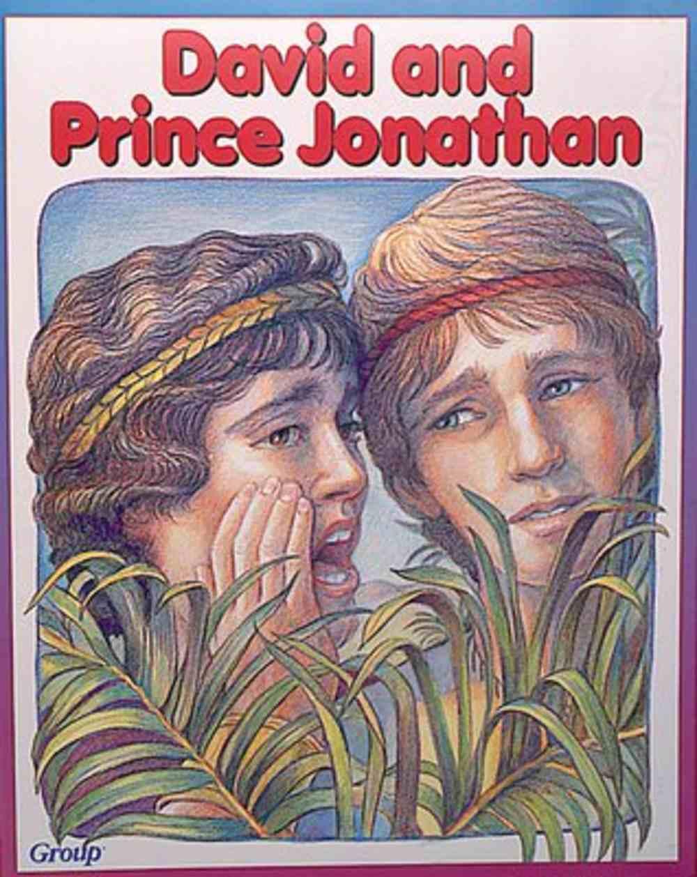 David & Prince Jonathan (Bible Big Book Series) Paperback