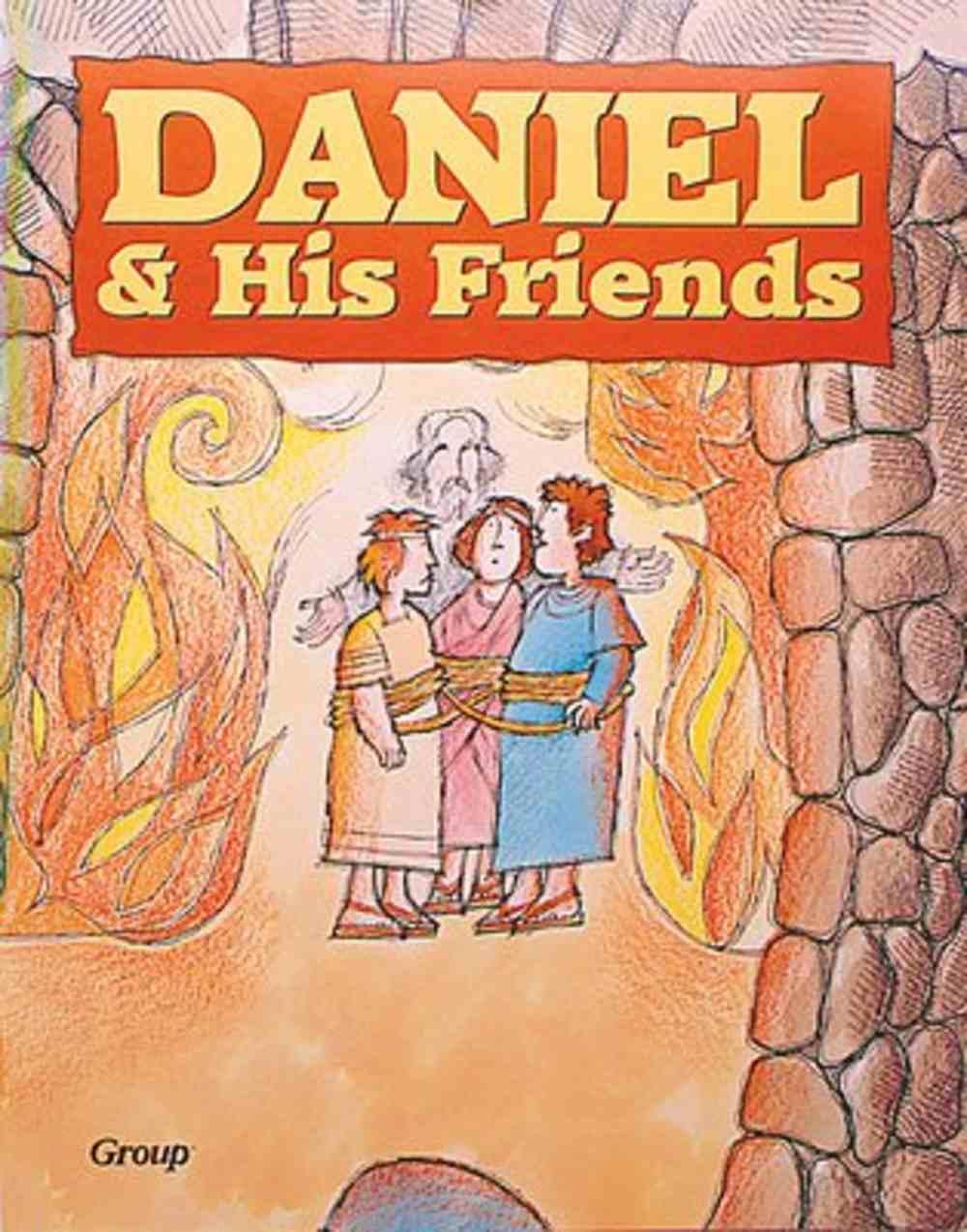 Daniel & His Friend (Bible Big Book Series) Paperback