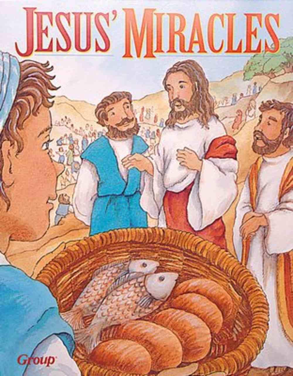 Jesus Miracles (Bible Big Book Series) Paperback