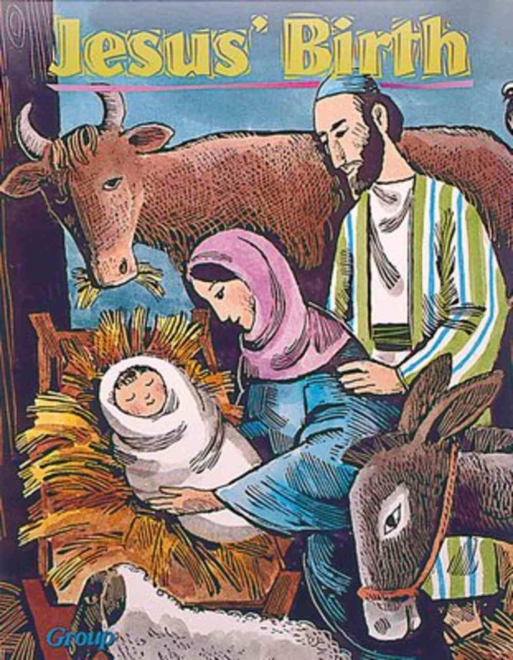 Jesus' Birth (Bible Big Book Series) Paperback