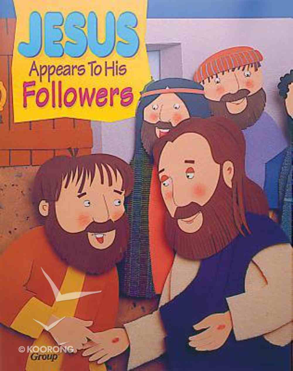 Jesus Appears to His Followers (Bible Big Book Series) Paperback