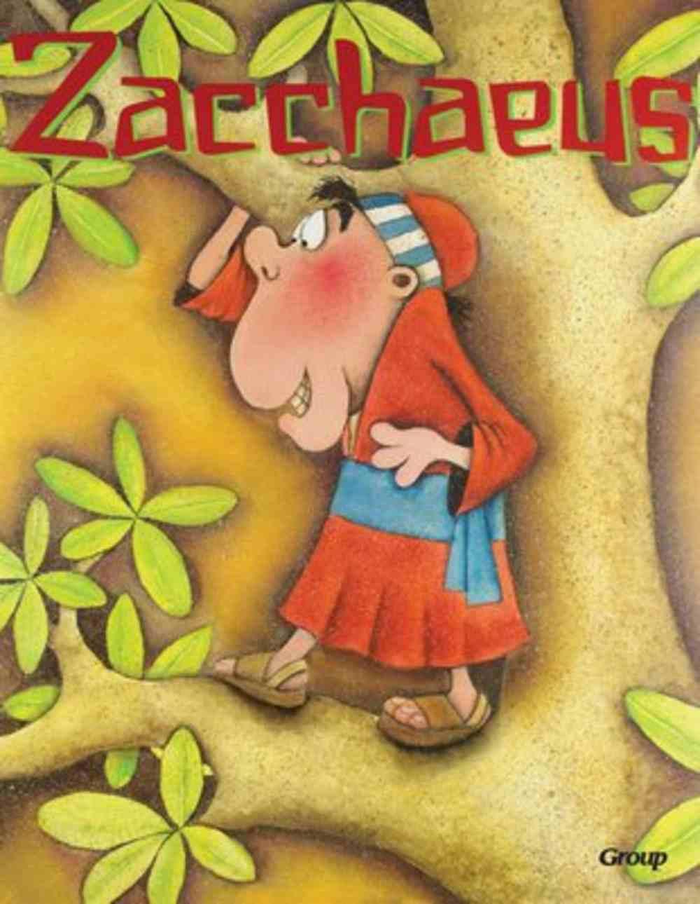 Zacchaeus (Bible Big Book Series) Paperback