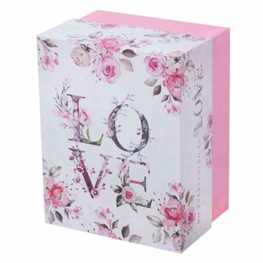 Boxed Gift Set: Love Journal and Ceramic Mug Floral/Pink (355 Ml) Pack