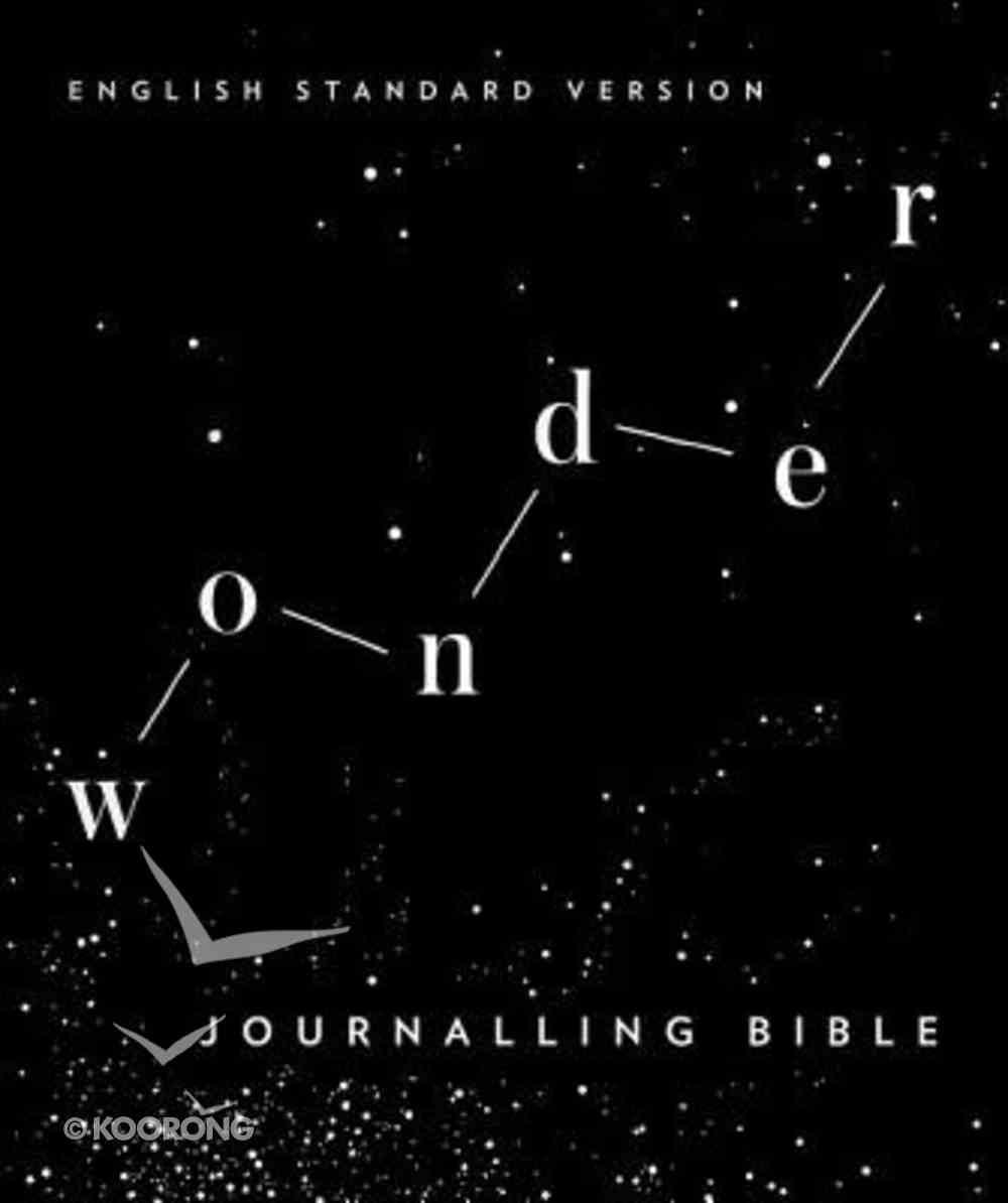 ESV Wonder Journaling Bible Flexi Back