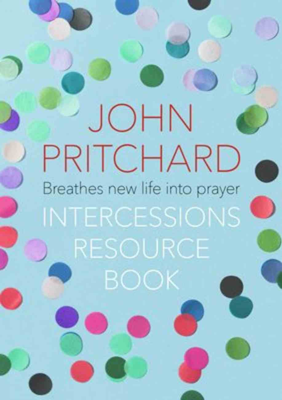 The Intercessions Resource Book Paperback