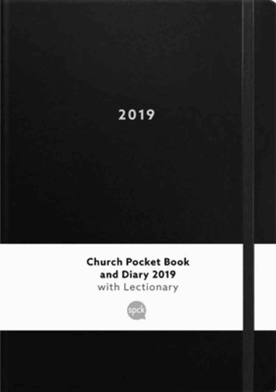 Church Book and Diary 2019 With Lectionary Black (A5 With Elastic Strap) Calendar