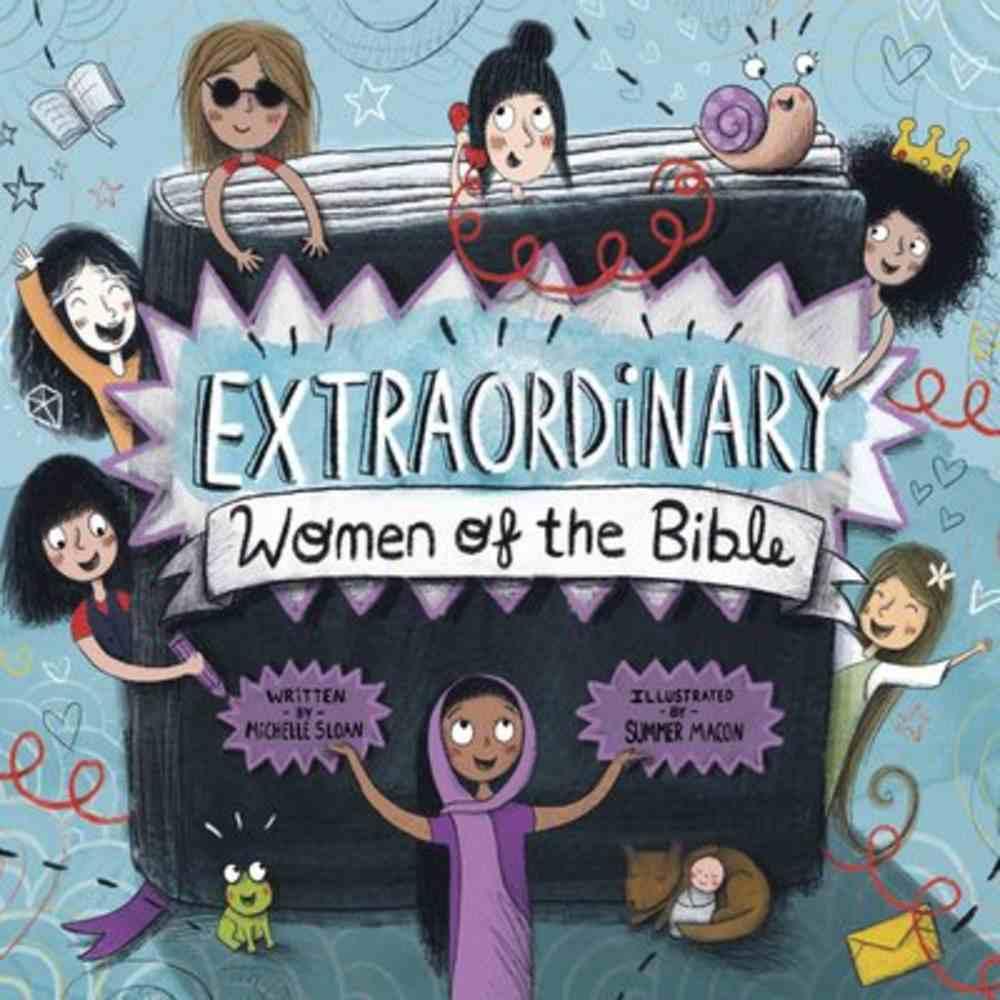 Extraordinary Women of the Bible Hardback