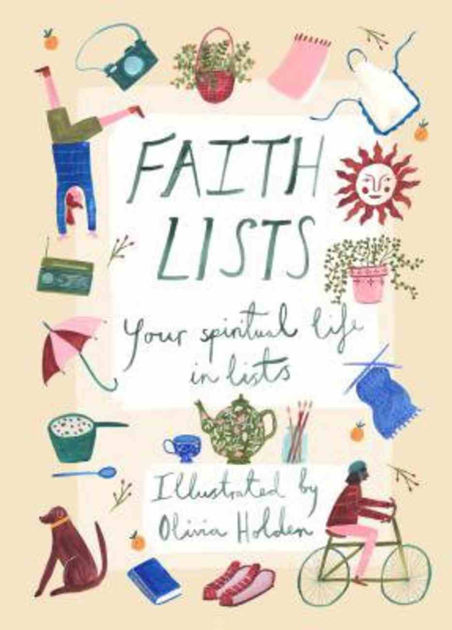 Faith Lists: Your Spiritual Life in Lists Paperback