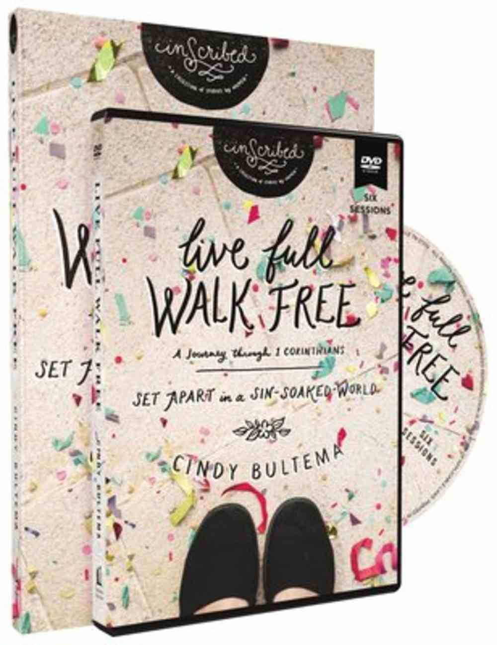 Live Full Walk Free (Study Guide With DVD) (Inscribed Collection Series) Pack
