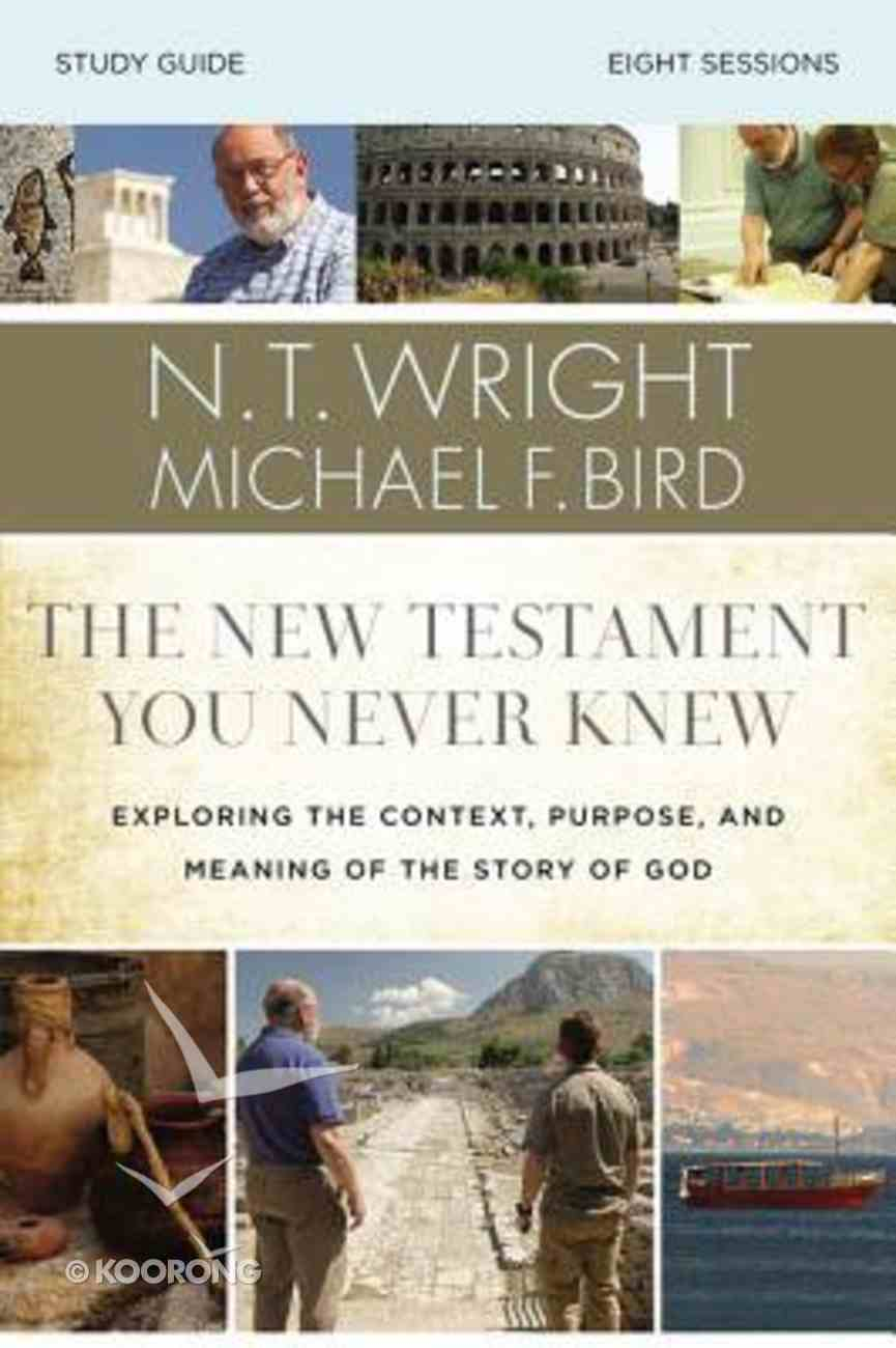 The New Testament You Never Knew Study Guide eBook