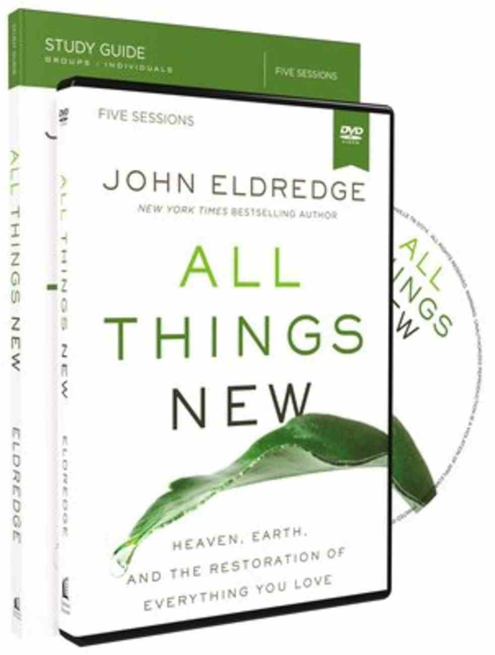 All Things New: A Revolutionary Look At Heaven and the Coming Kingdom (Study Guide With Dvd) Pack
