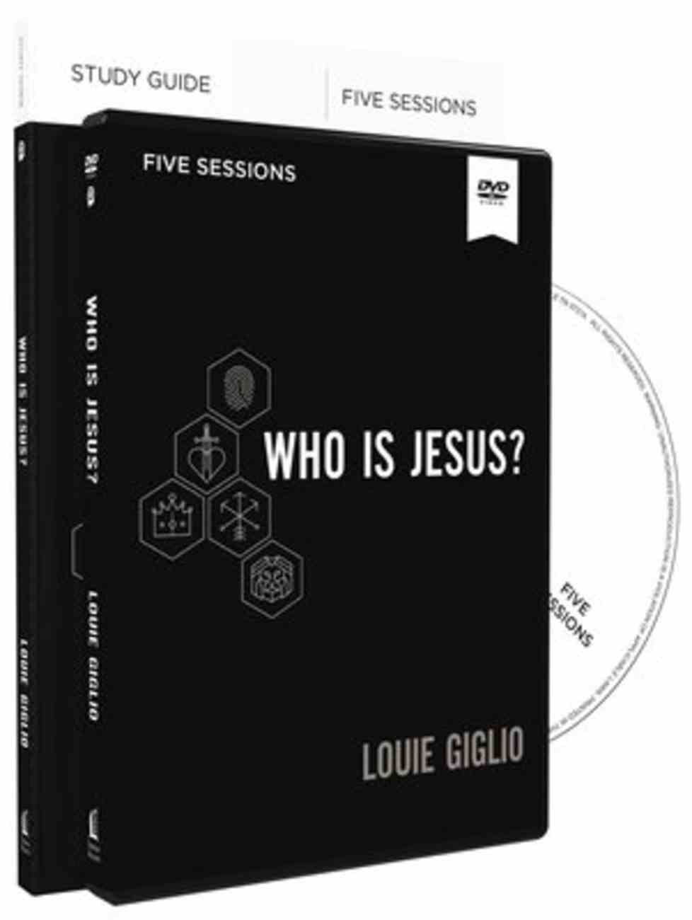 Who is Jesus? (Study Guide And Dvd) Paperback