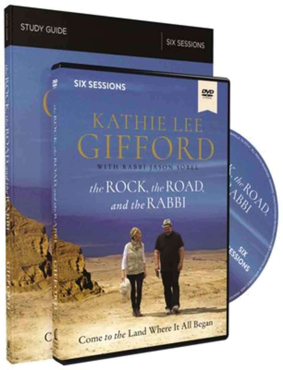 Rock, the Road, and the Rabbi, the: My Journey Into the Heart of the Christian Faith and the Land Where It All Began (Study Guide With Dvd) Paperback