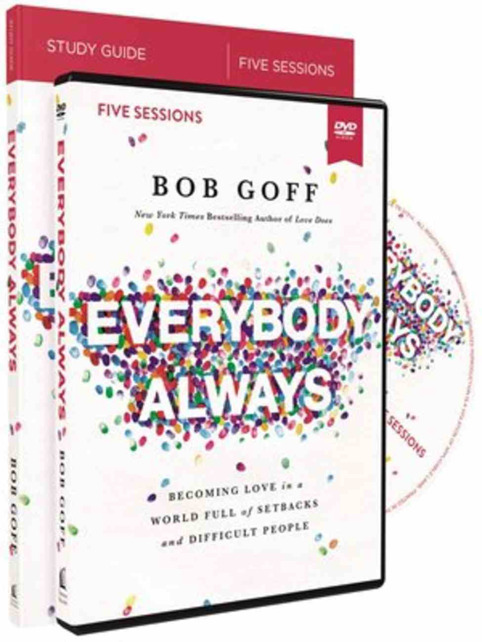 Everybody, Always: Becoming Love in a World Full of Setbacks and Difficult People (Study Guide With Dvd) Pack