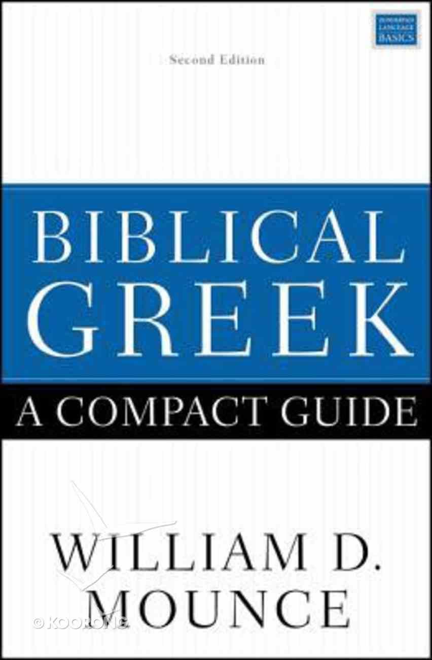 Biblical Greek: A Compact Guide eBook