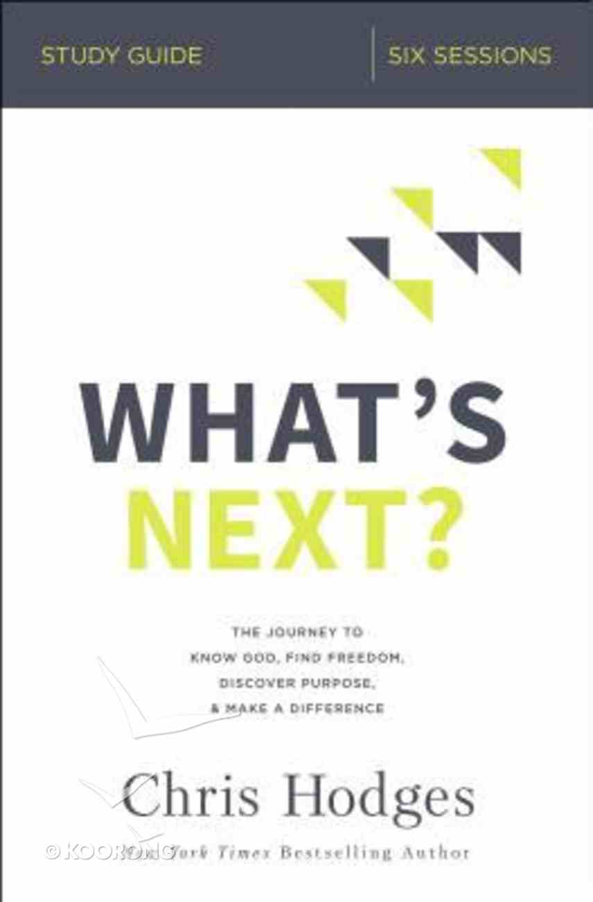What's Next? Study Guide eBook