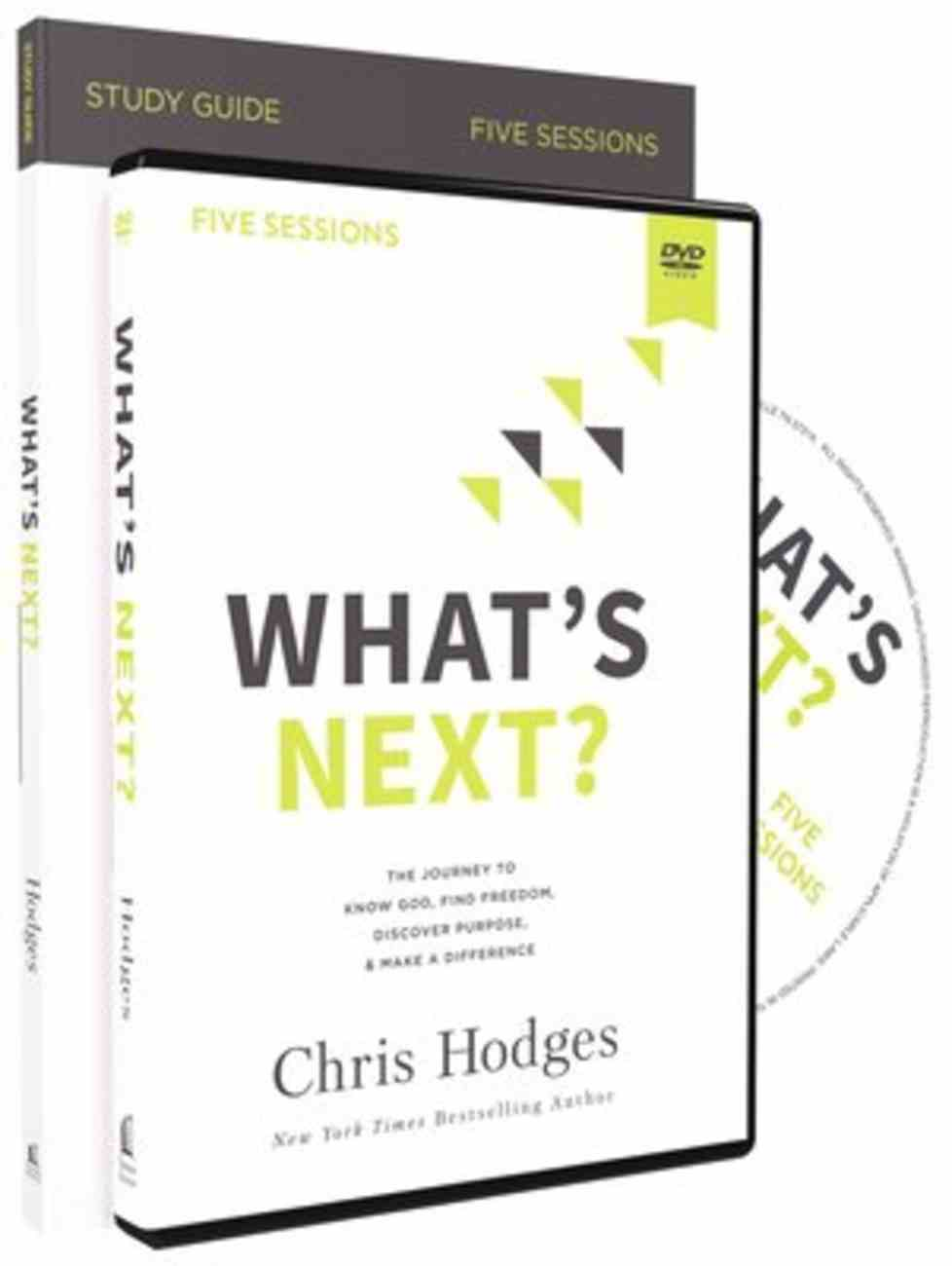 What's Next?: The Journey to Know God, Find Freedom, Discover Purpose, and Make a Difference (Study Guide With Dvd) Pack