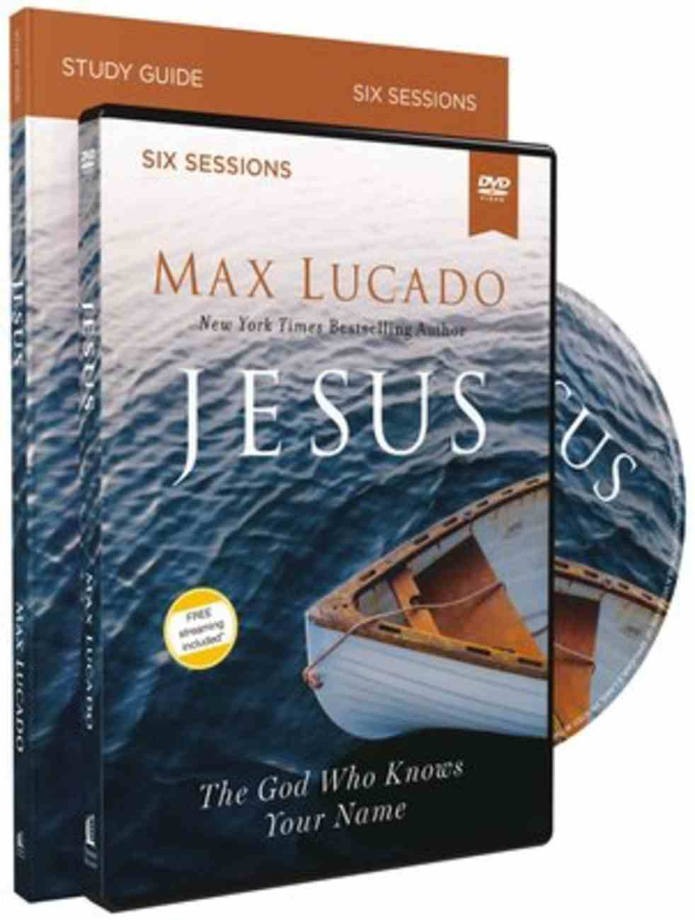Jesus: The God Who Knows Your Name (Study Guide With Dvd) Pack