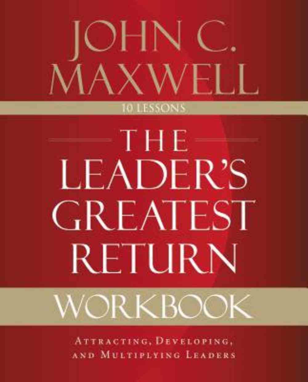 The Leader's Greatest Return Workbook eBook