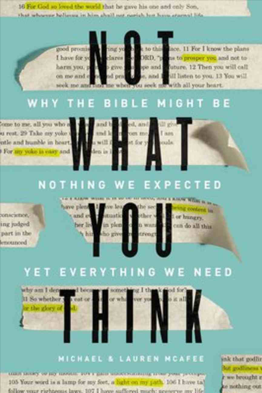Not What You Think eBook