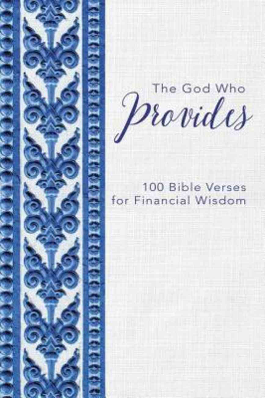 The God Who Provides eBook