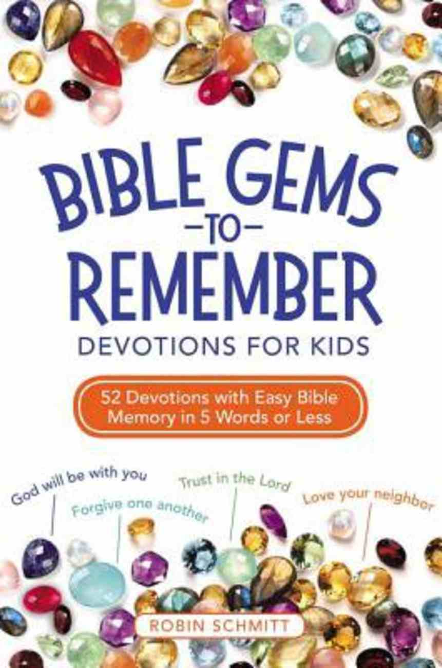 Bible Gems to Remember Devotions For Kids eBook