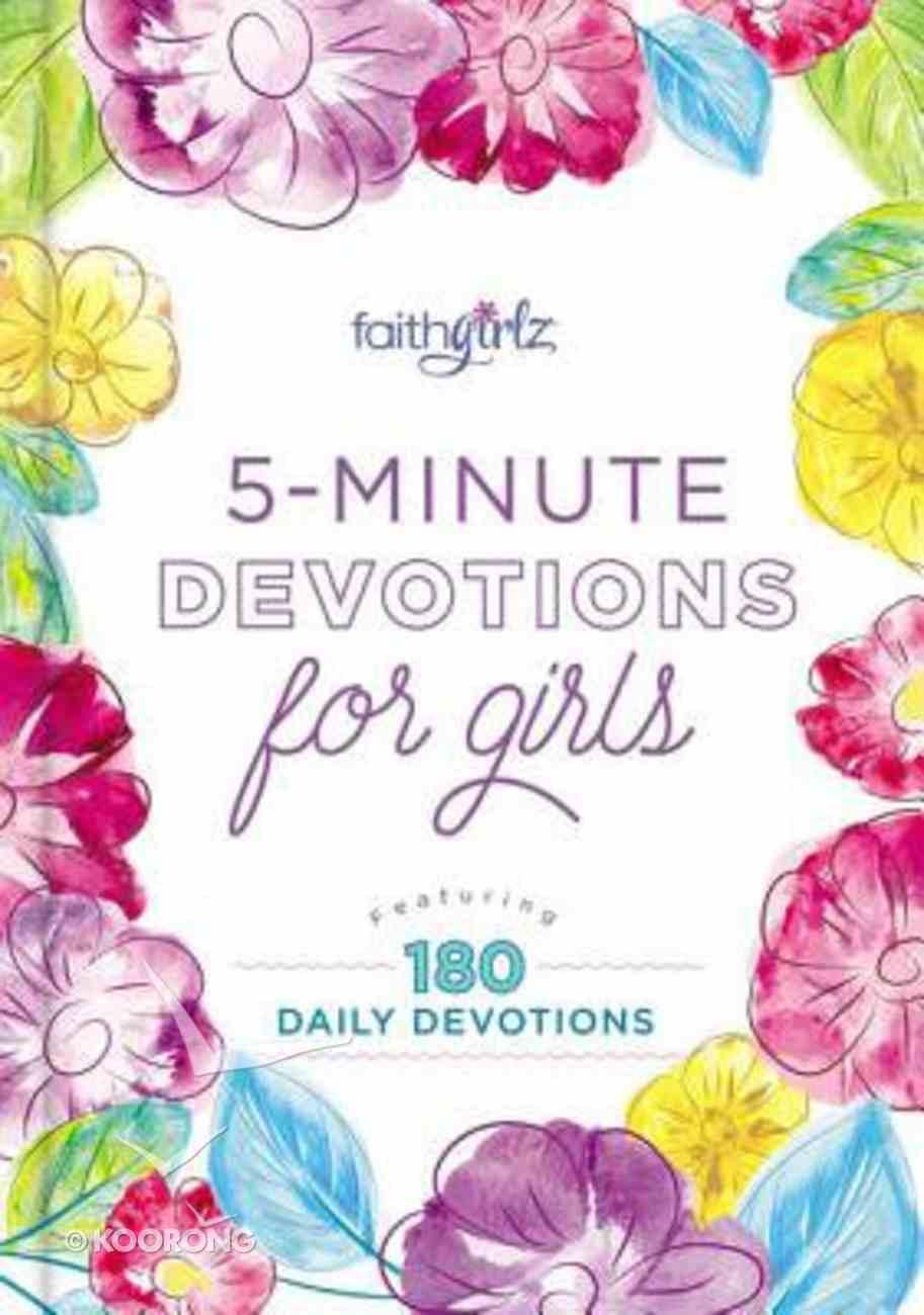 5-Minute Devotions For Girls (Faithgirlz! Series) eBook