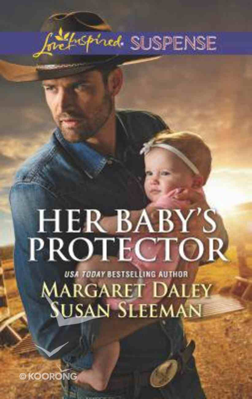 Her Baby's Protector: Saved By the Lawman/Saved By the Seal (Love Inspired Suspense 2 Books In 1 Series) Mass Market