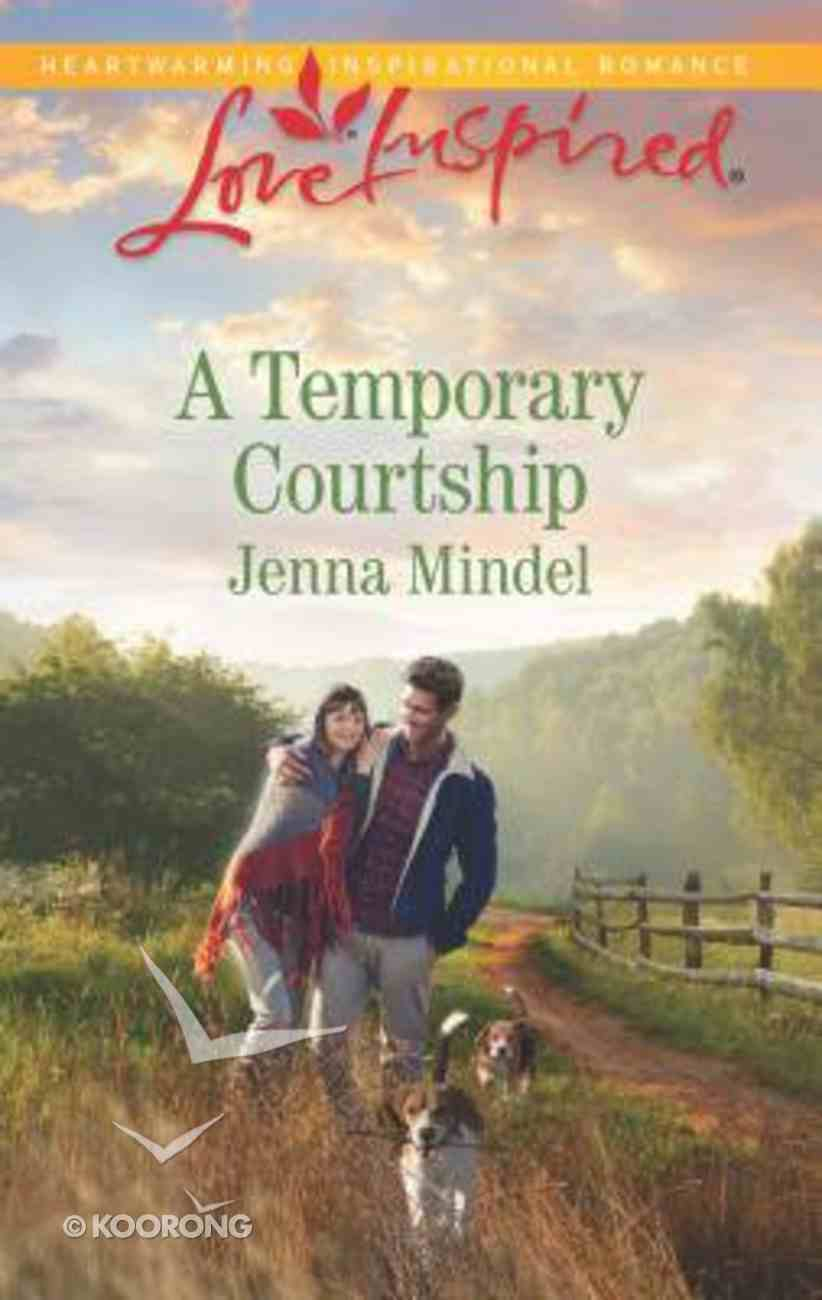 A Temporary Courtship (Maple Springs) (Love Inspired Series) Mass Market