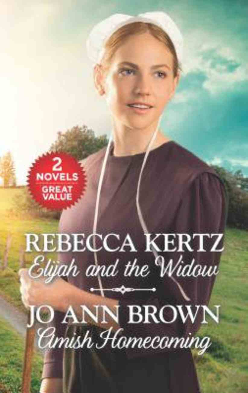 Elijah and the Widow & Amish Homecoming (2 Books in 1) (Love Inspired Series) Mass Market