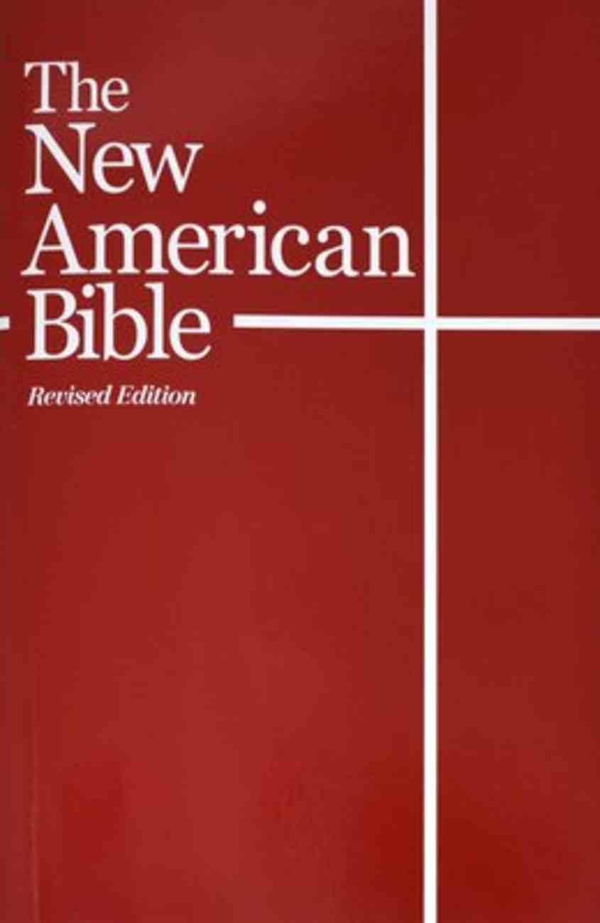 Nab Catholic Student Edition Red Paperback