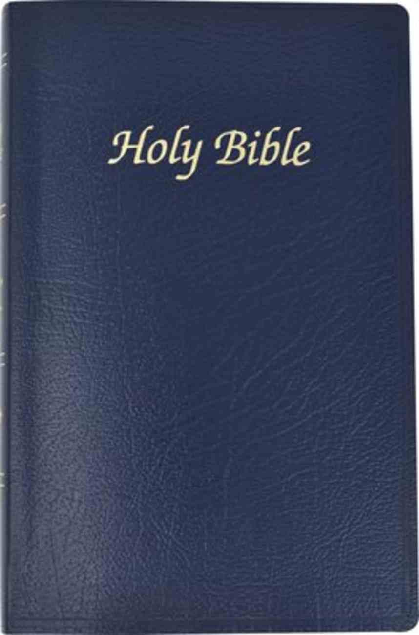 Nab Catholic First Communion Bible Blue Imitation Leather