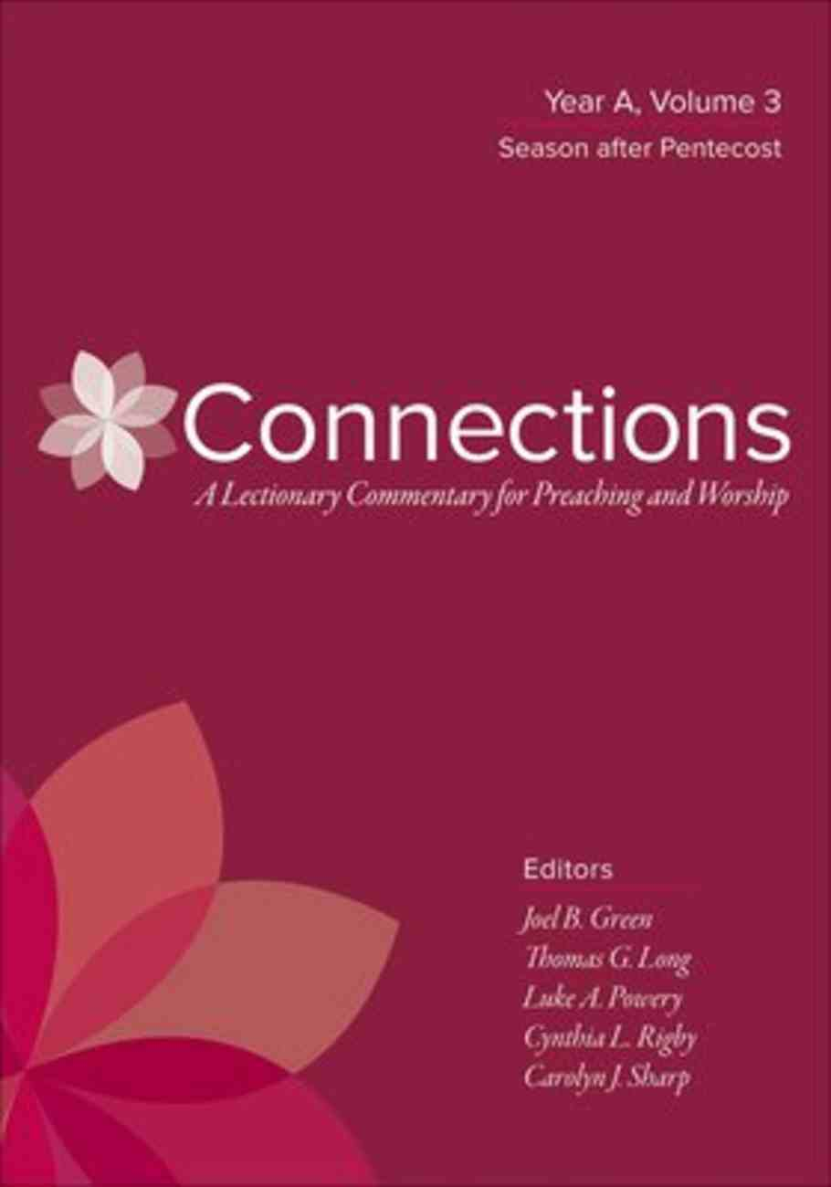 Connections: Year a (Vol 3) Hardback