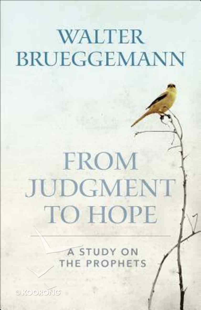 From Judgment to Hope: A Study on the Prophets Paperback